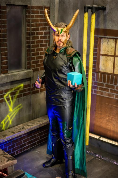 Loki from Thor: Ragnarok.